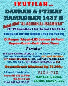 Brosur Daurah Ramadhan 1437-Warna1